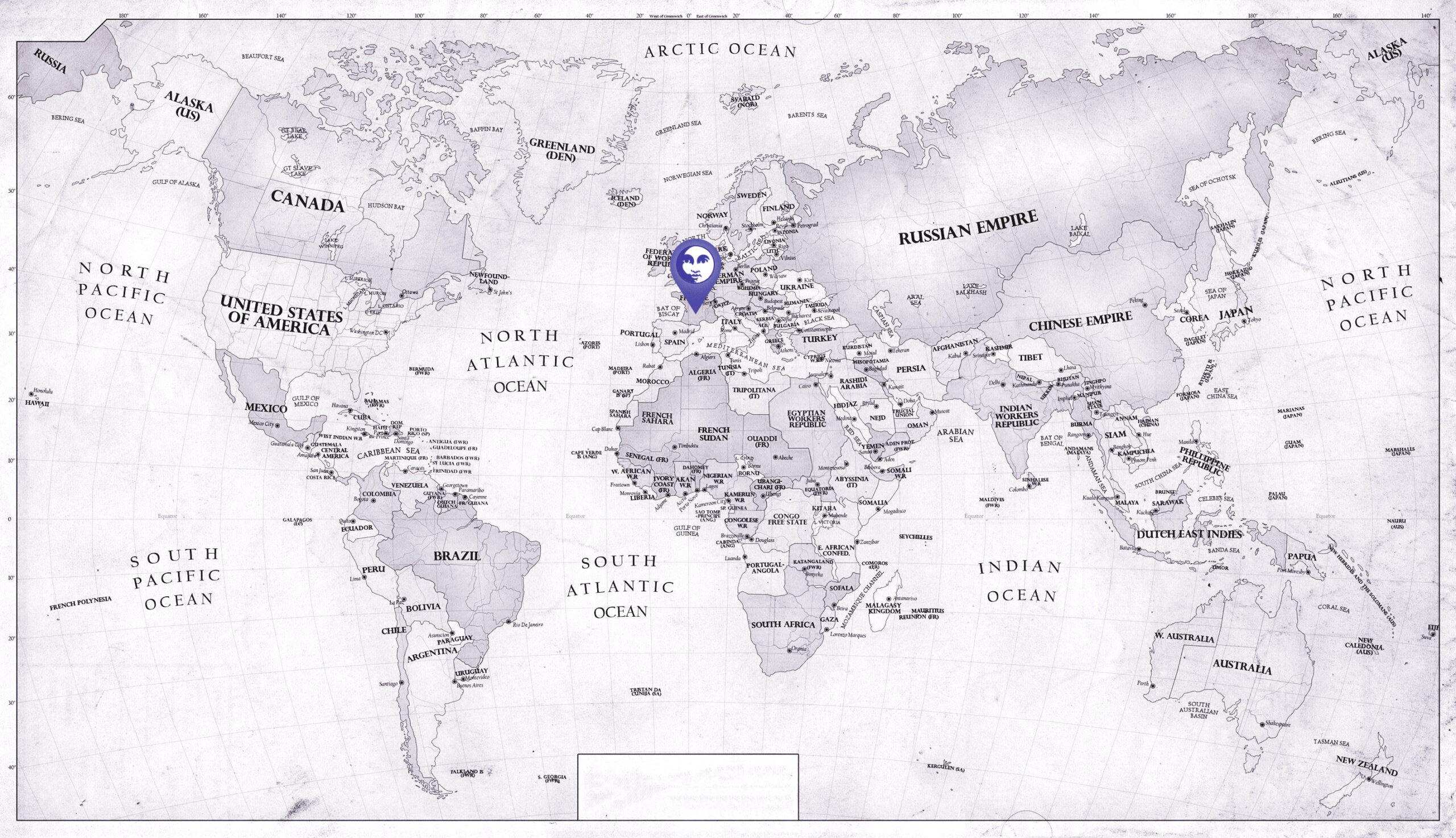 Zvezdana mapa u pećini Brunikel