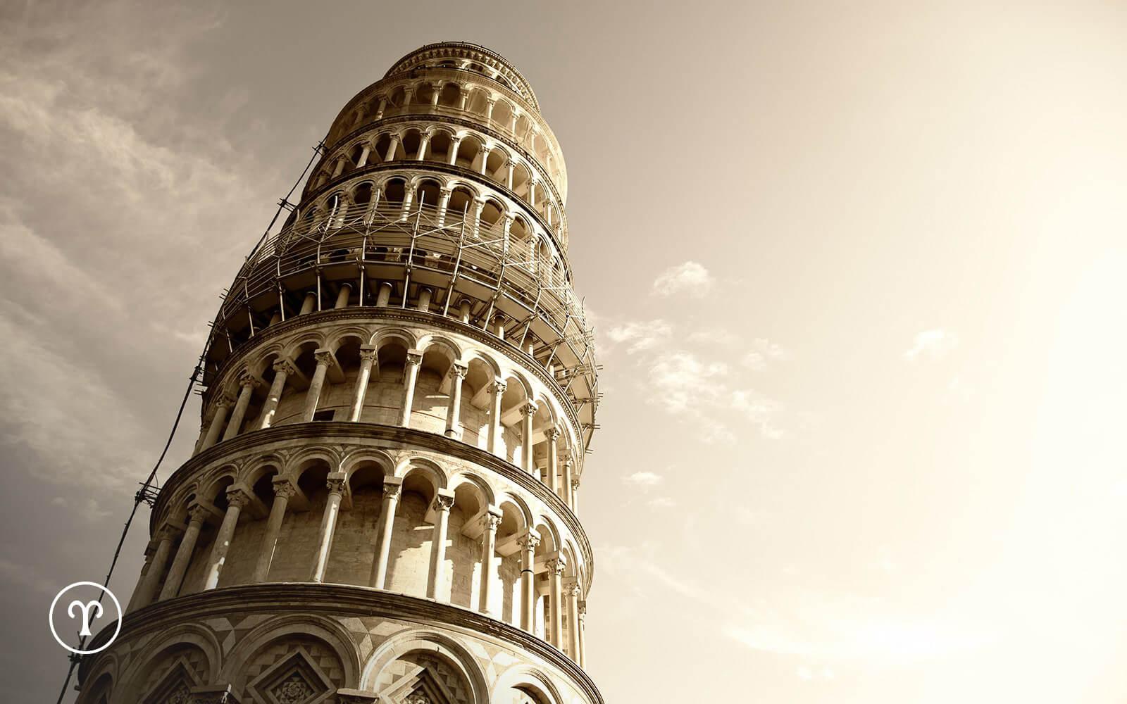 Trg čudesa u Pizi – preslikano sazvežđe Ovna