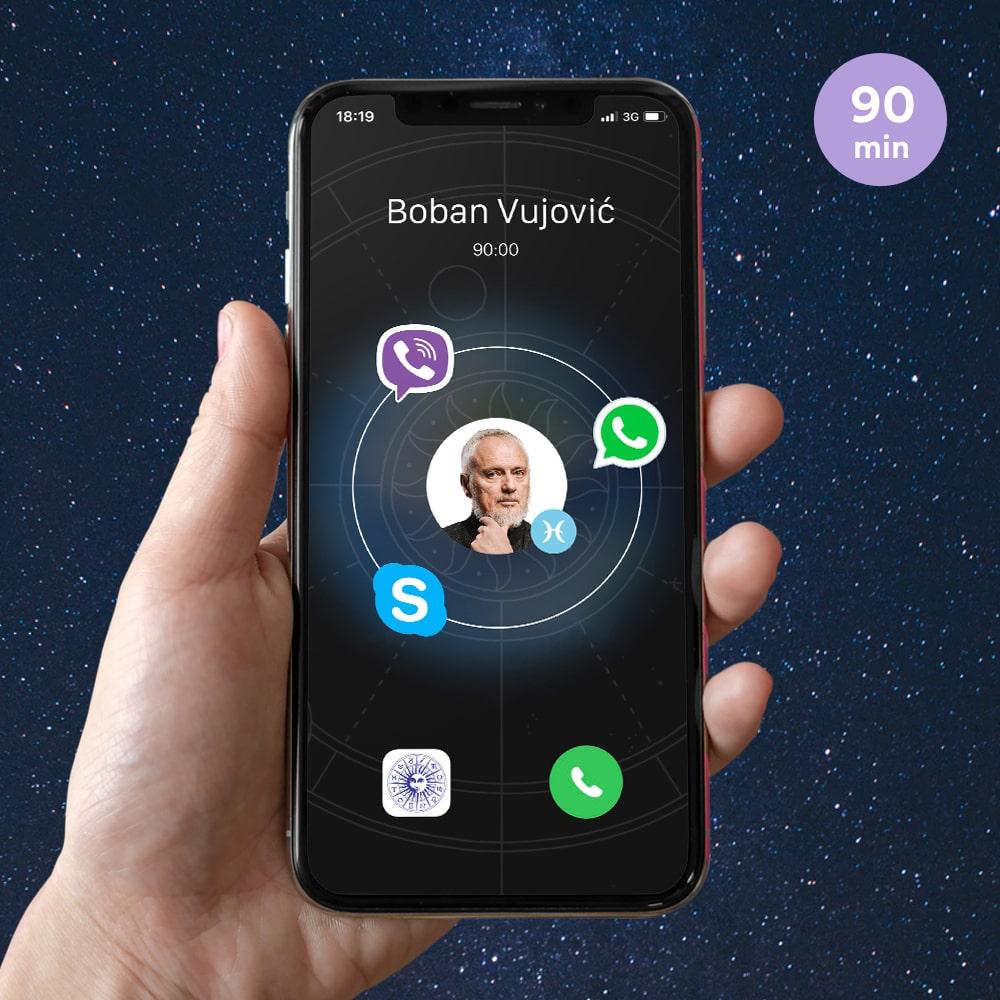 Astrološke konsultacije - 90 min